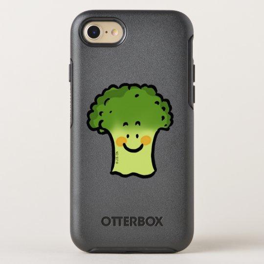 dibujo animado lindo del bróculi del veggie funda OtterBox symmetry para iPhone 7