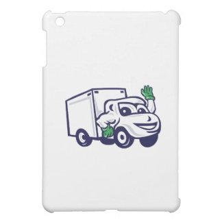 Dibujo animado que agita de Van de entrega
