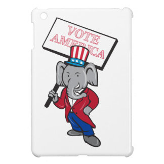 Dibujo animado republicano de América del voto de