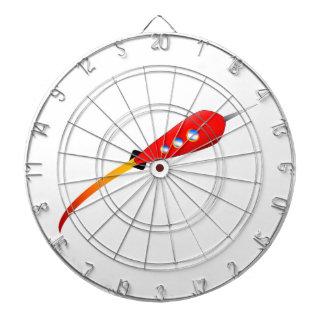 Dibujo animado rojo Rocket Diana