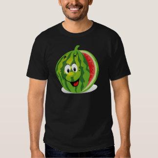Dibujo animado-Sandía Camisetas