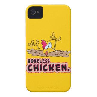 dibujo animado sin hueso divertido del pollo iPhone 4 funda