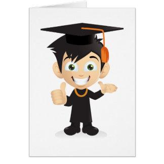 Dibujo animado tarjeta de felicitación