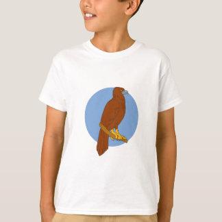 Dibujo Cuña-atado australiano de la perca de Eagle Camiseta