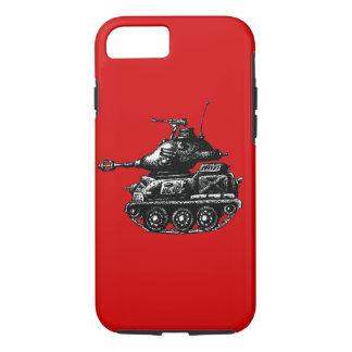 Dibujo de la pluma de la tinta del tanque funda iPhone 7