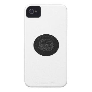 Dibujo del cheeseburger carcasa para iPhone 4 de Case-Mate