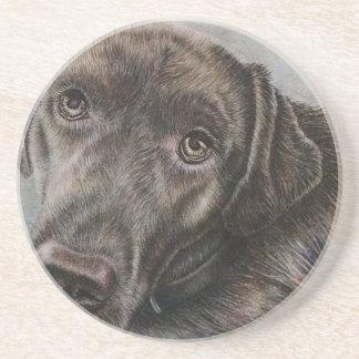 Dibujo del perro de Labrador del arte animal Posavasos