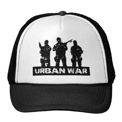 dibujo urban war gorras