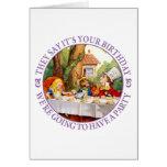 Dicen que es su cumpleaños… tarjetas