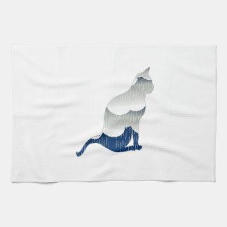 Dicha felina toallas de cocina