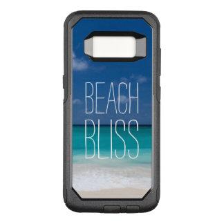 Dicha hermosa de la playa funda commuter de OtterBox para samsung galaxy s8