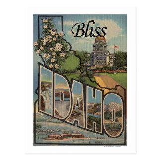 Dicha letra ScenesBliss identificación de IdahoL Tarjetas Postales