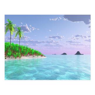 Dicha tropical tarjetas postales