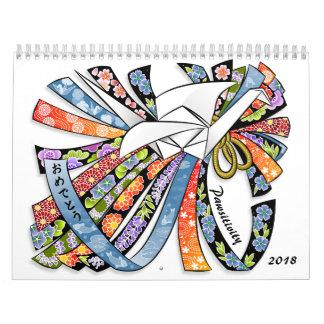 Dicha y calendario de Pawsitivity 2018 de los