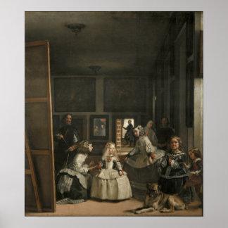 Diego Velázquez Las Meninas Póster