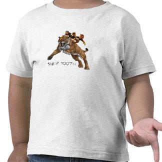 Diente y 3 Studges del sable Camiseta
