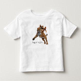 Diente y 3 Studges del sable Camisetas