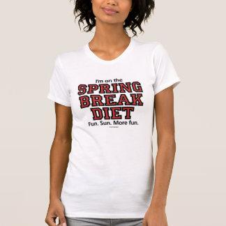 Dieta Lite de las vacaciones de primavera Camisetas