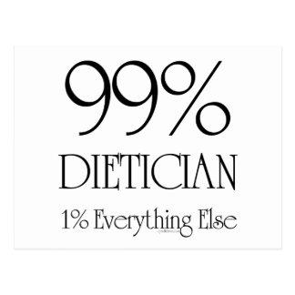 Dietético del 99% postales