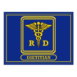 Dietético registrado postal