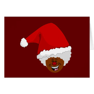 Diga a Santa negro lo que usted quiere para el nav Tarjeta Pequeña