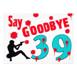Diga adiós a la 40.a celebración del cumpleaños de