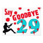 Diga adiós a la trigésima celebración del cumpleañ