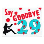 Diga adiós a la trigésima celebración del comunicado personalizado