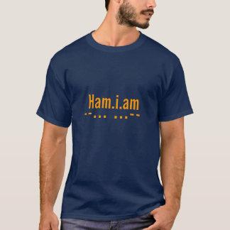 ¡Diga el mundo que usted es operador de equipo de Camiseta