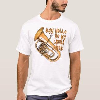 Diga hola al pequeño amigo del Mt -- Barítono Camiseta