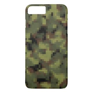Digitaces verdes Camo militar Funda iPhone 7 Plus
