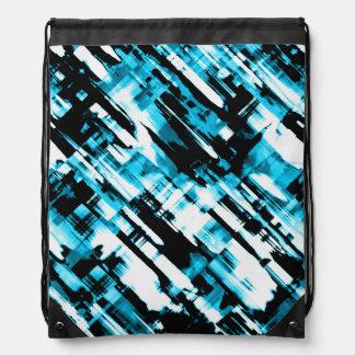Digitalart G253 del negro azul de la mochila del