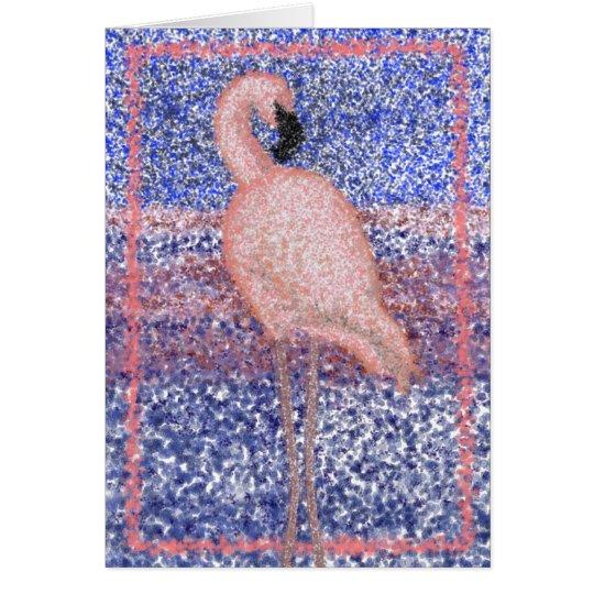 Dignificado en tarjeta de nota rosada