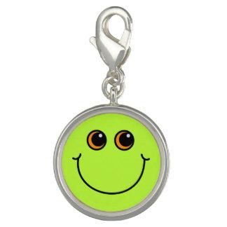 Dije Cara sonriente verde