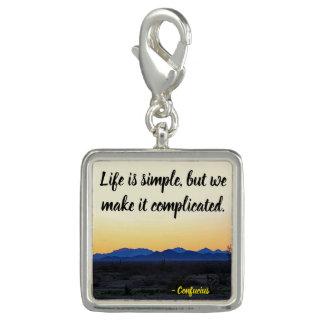 Dije Con Foto La vida es simple