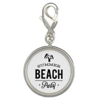 Dije Fiesta de la playa del verano