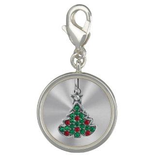 Dijes Árbol de navidad Jeweled