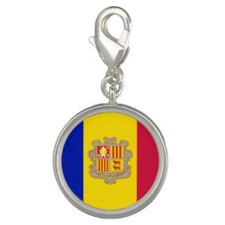 Dijes Con Foto Bandera patriótica de Andorra