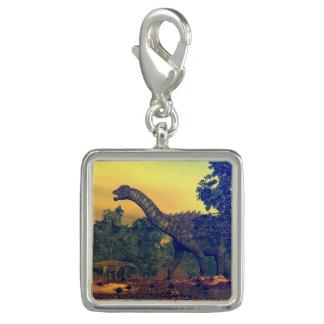 Dijes Con Foto Dinosaurios del Ampelosaurus