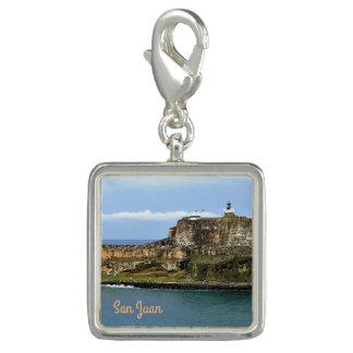 Dijes Con Foto EL Morro que guarda la entrada de la bahía de San