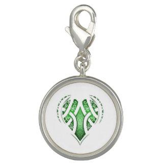 Dijes Diseño céltico del tatuaje del corazón