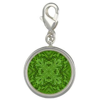 Dijes Encanto verde del modelo del vintage que va