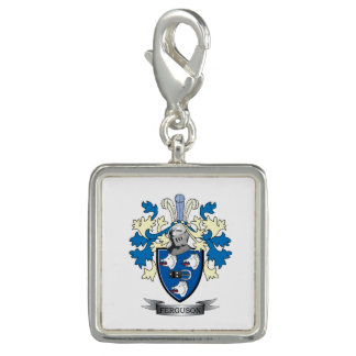 Dijes Escudo de armas del escudo de la familia de