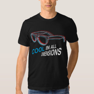 Dimensiones frescas camiseta