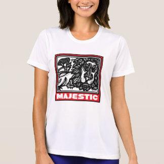 Dinámico decisivo animado de acoplamiento camiseta