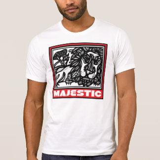 Dinámico decisivo animado de acoplamiento camisetas