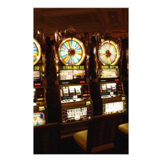 Dinero armado de juego Las Vegas del bandido de la Papeleria De Diseño