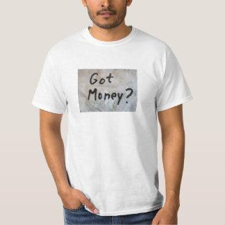 ¿Dinero conseguido? Camiseta
