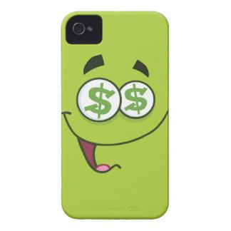 Dinero feliz Emoji Carcasa Para iPhone 4 De Case-Mate