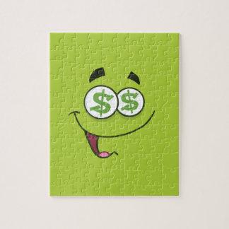 Dinero feliz Emoji Puzzle